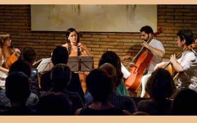 Música: Alma Cello Quartet