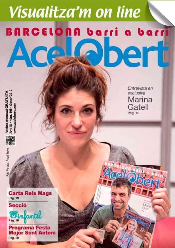 Acelobert Barcelona nº 108 GENER 2017