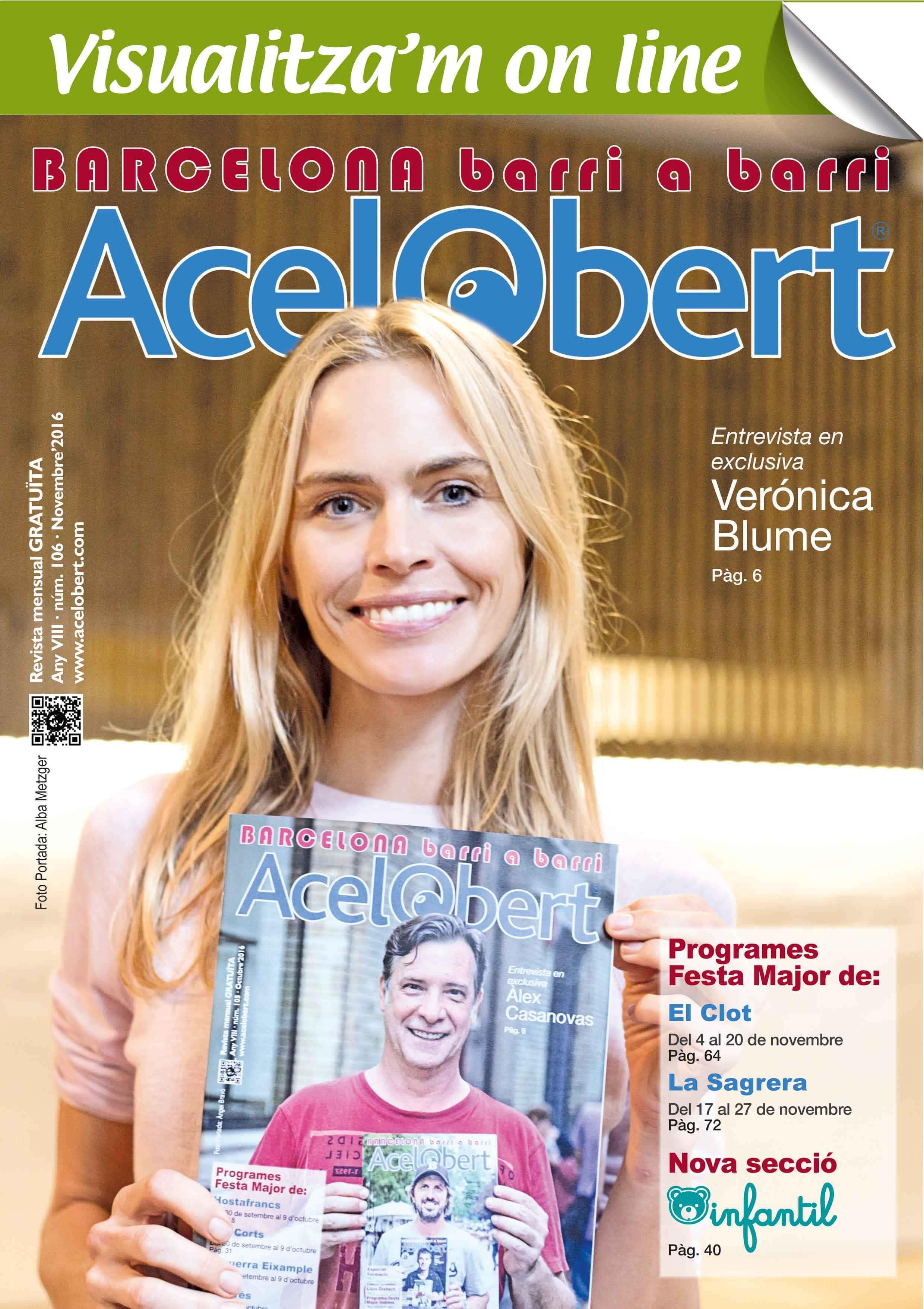 Acelobert Barcelona nº 106 NOVIEMBRE 2016