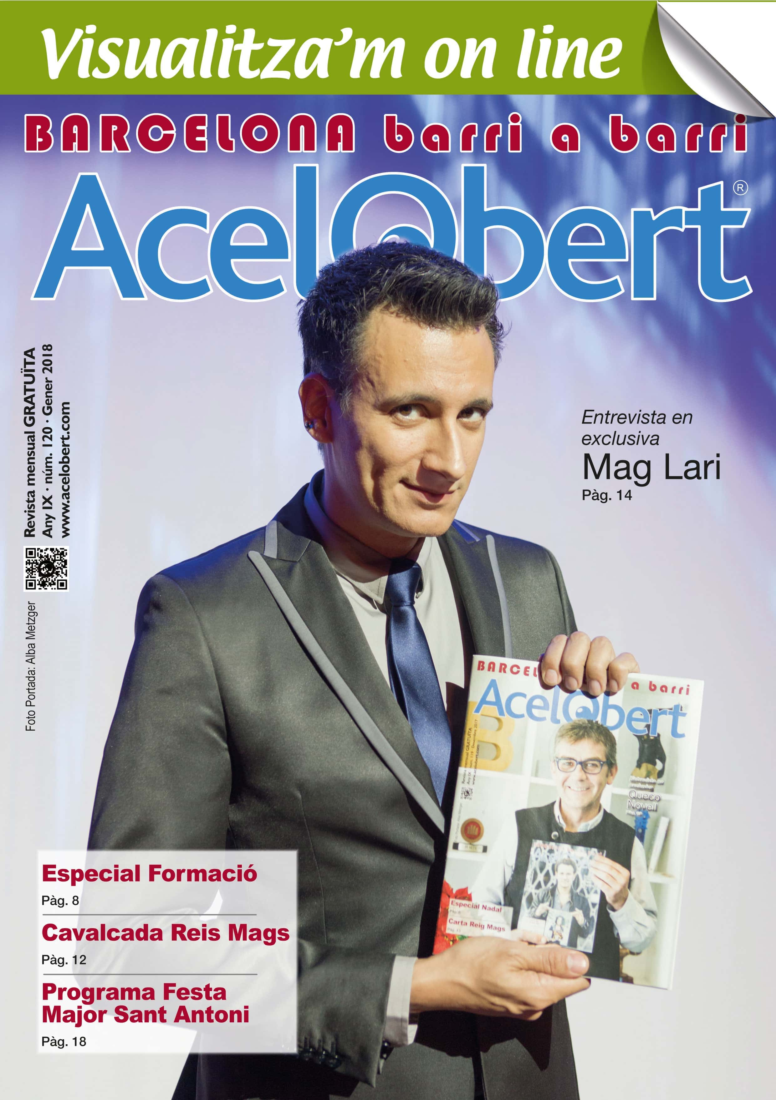 Acelobert Barcelona nº 120 GENER 2018