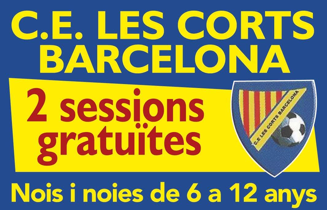 Jugar a futbol en Club Esportiu Les Corts