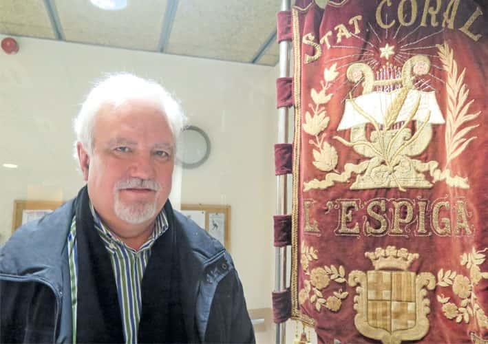 Manel Ollés, president de l'Espiga de les Corts