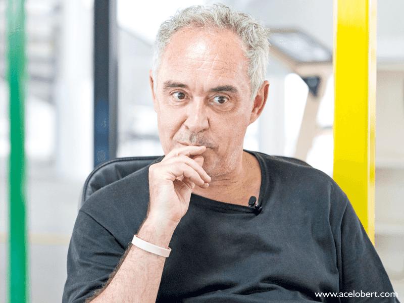 Entrevista a Ferran Adrià