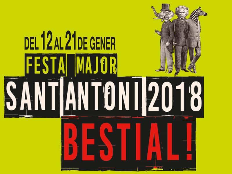 Programa Festa Major Sant Antoni'18
