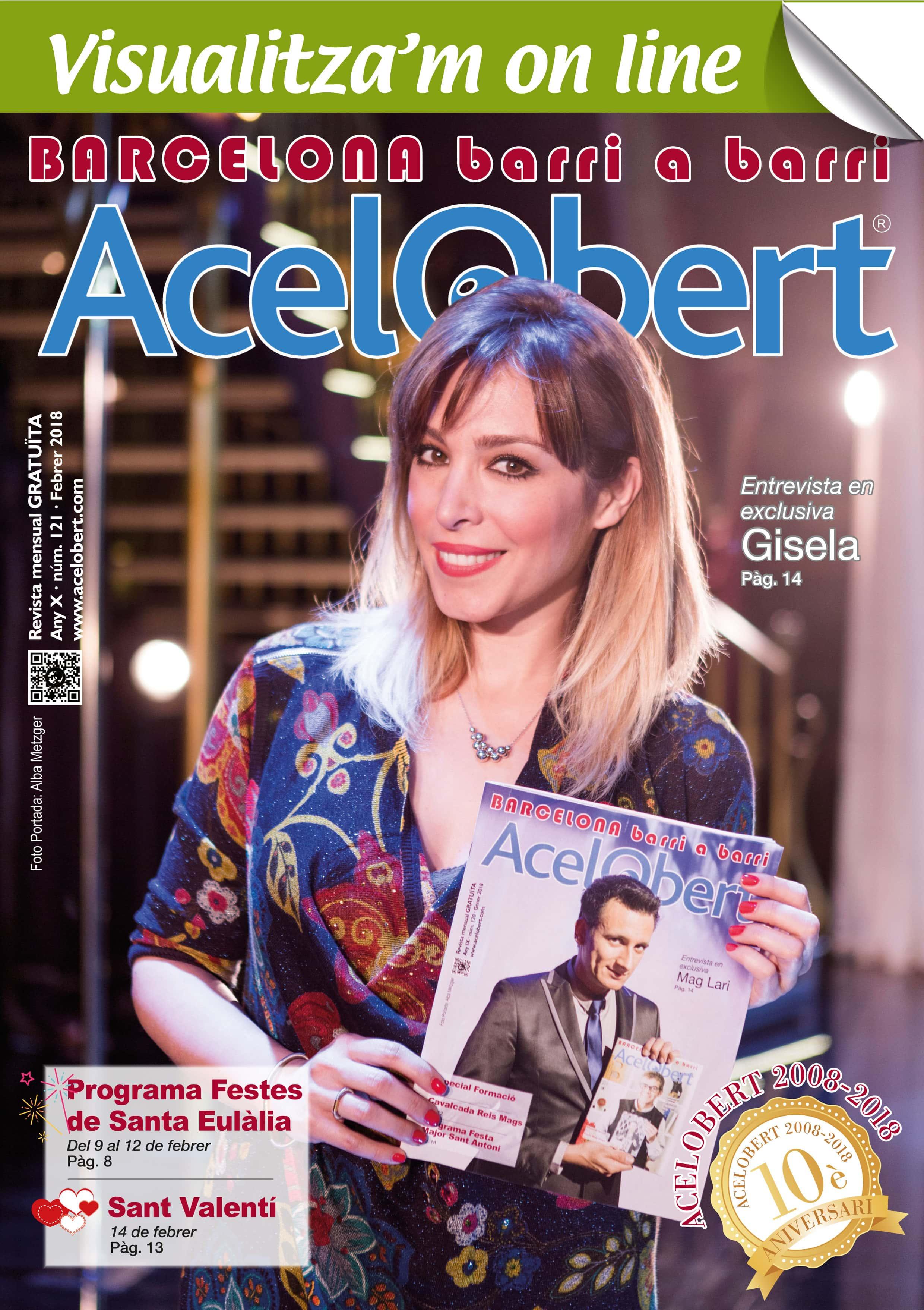Acelobert Barcelona nº 121 FEBRER 2018