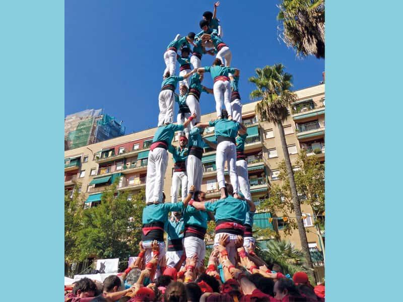Castellers de la Sagrada Família