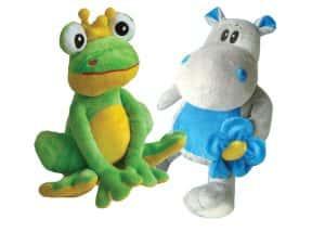 La Berta i en Pipo, mascotes de la revista Acelobert
