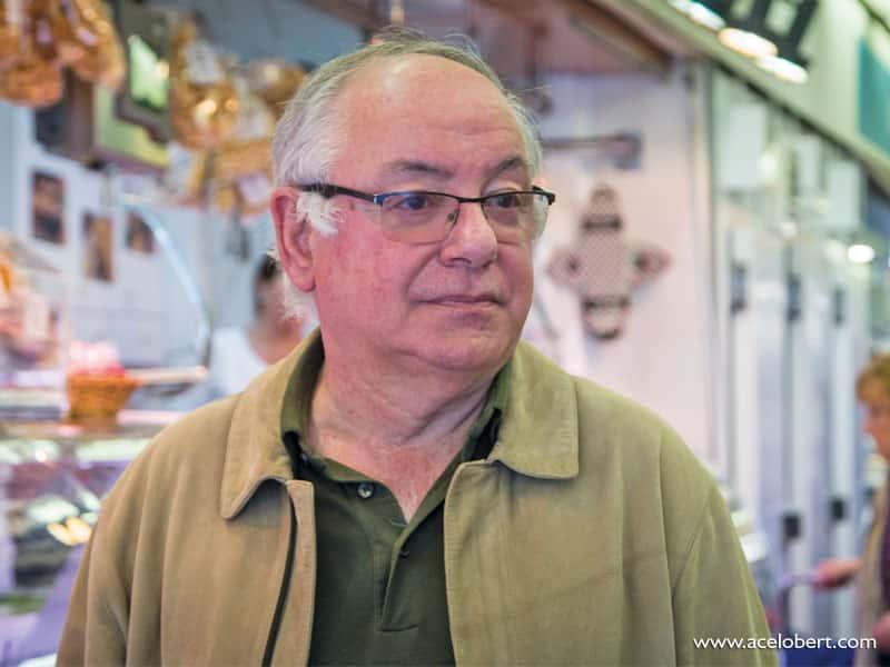 Miquel Humedes, gerent del Mercat de Sant Antoni