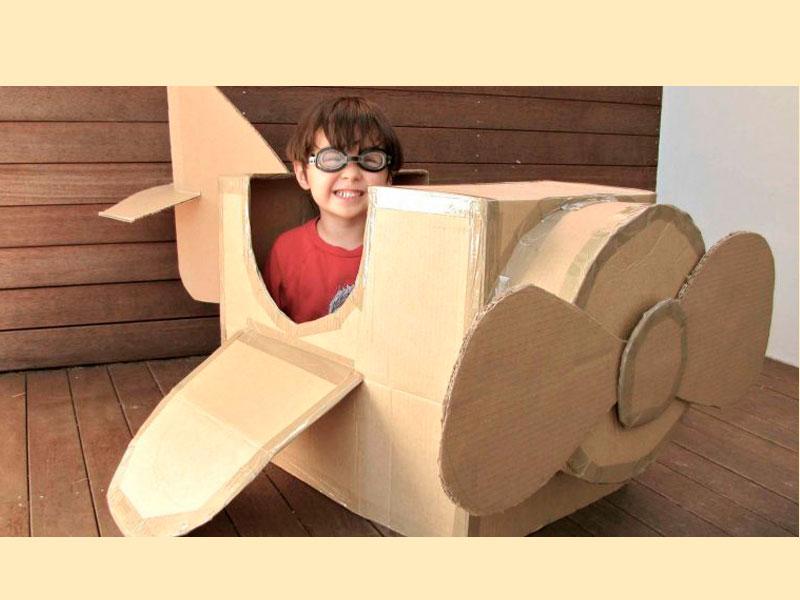 Infantil: 'Recicla la teva imaginació'