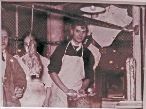 Tradició familiar del negoci, el seu pare quan era jove, Francesc Velazquez