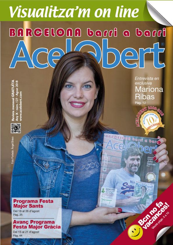 Acelobert Barcelona nº 127 AGOST 2018