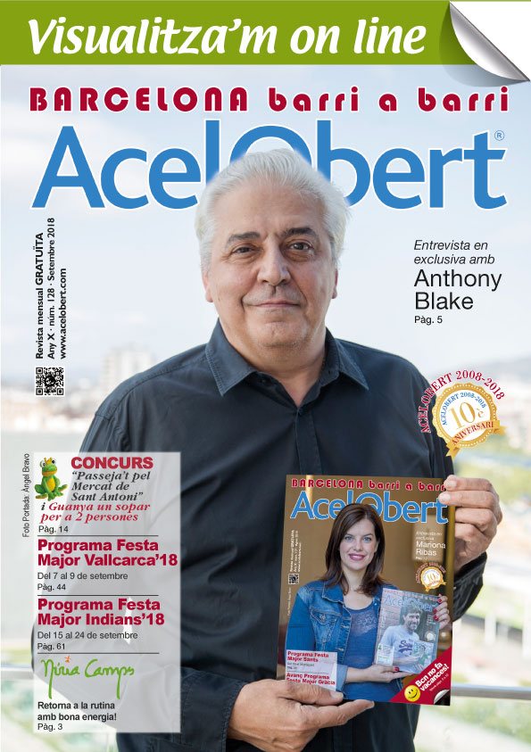 Acelobert Barcelona nº 128 SETEMBRE 2018