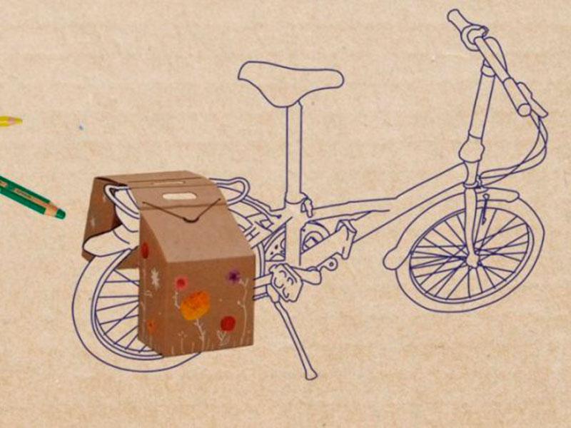 Taller:  'Fes unes alforges per a la teva bicicleta'
