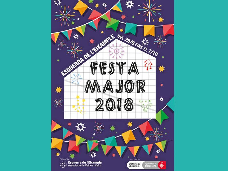 Programa Festa Major Esquerra Eixample 2018