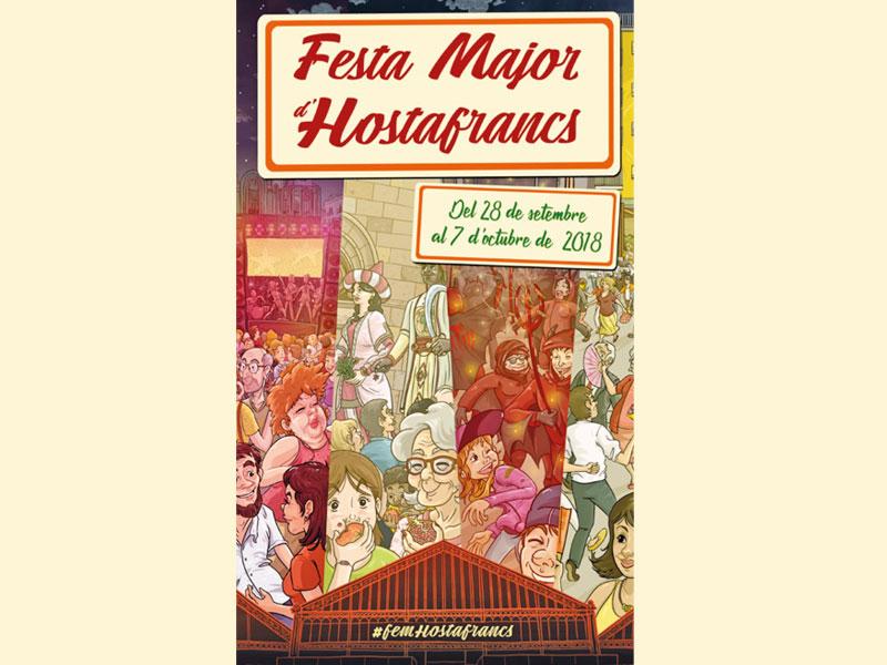 Programa Festa Major Hostafrancs 2018
