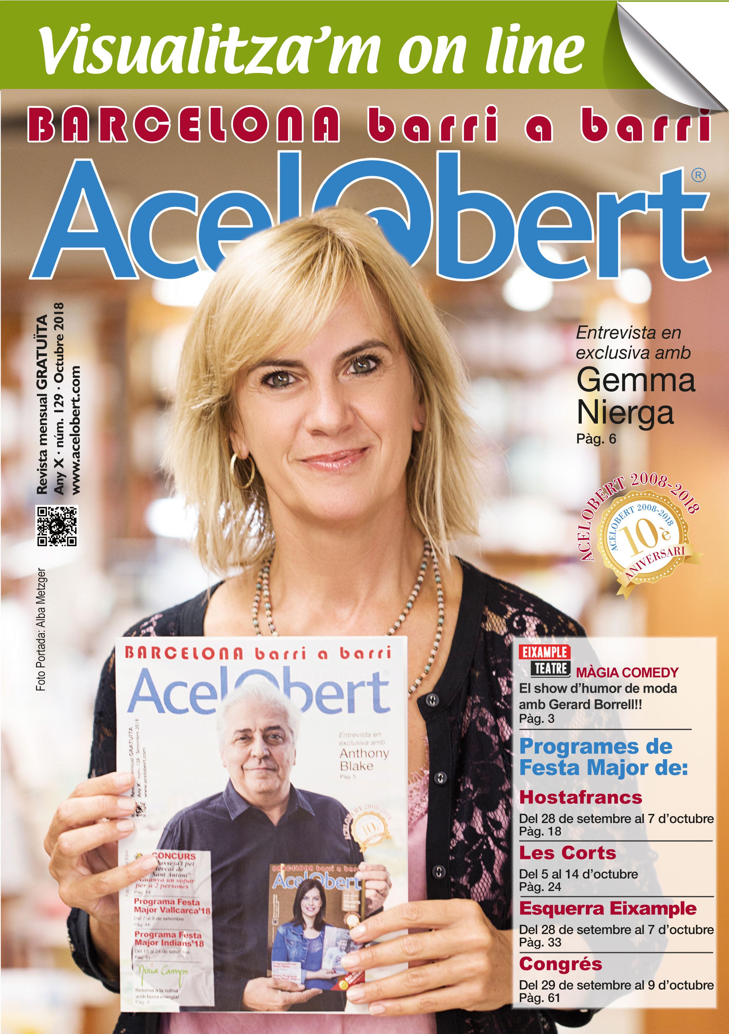 Acelobert Barcelona nº 129 OCTUBRE 2018