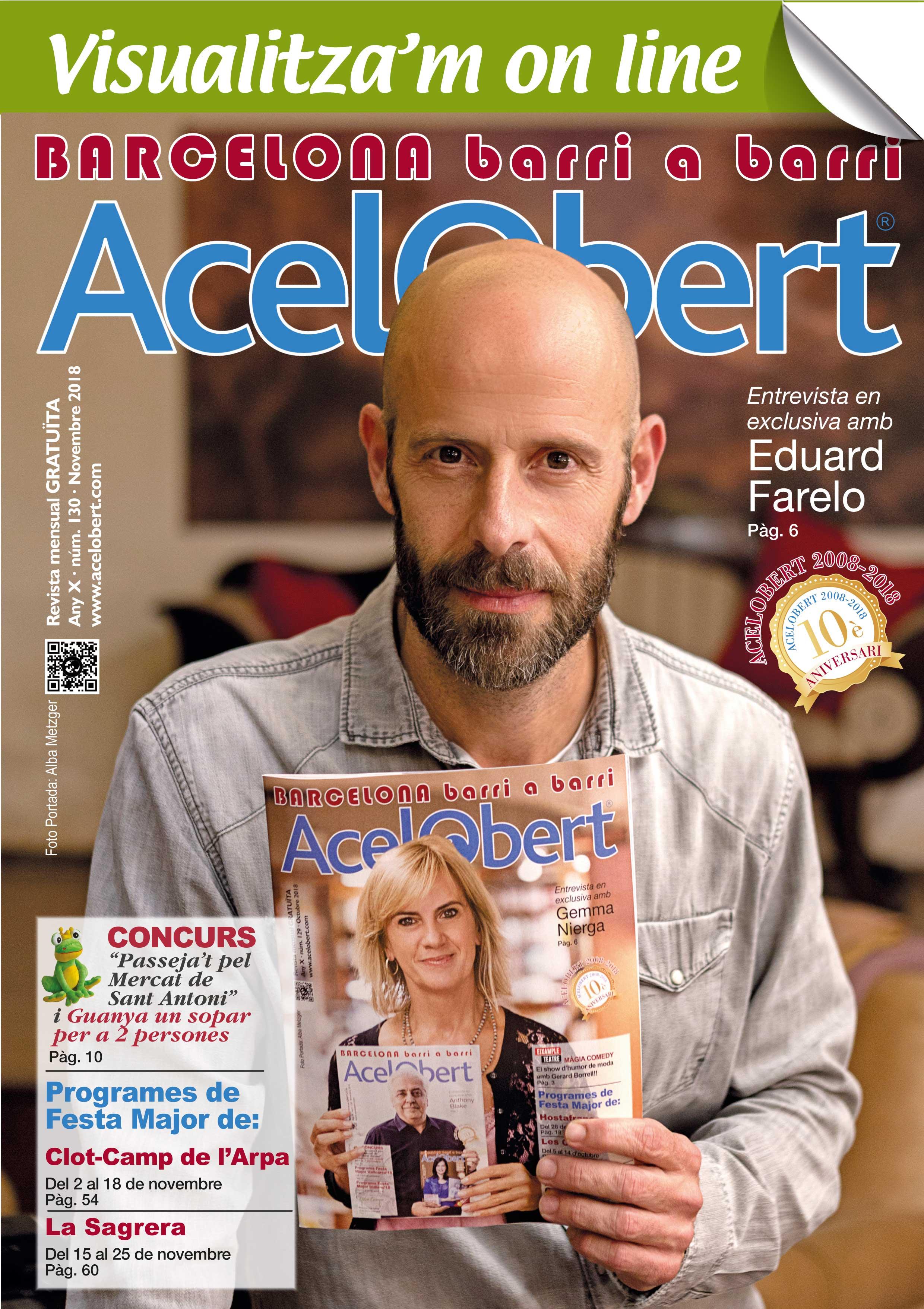 Acelobert Barcelona nº 130 NOVEMBRE 2018