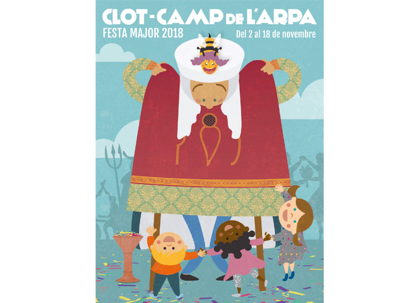 Programa Festa Major Clot-Camp de l'Arpa 2018