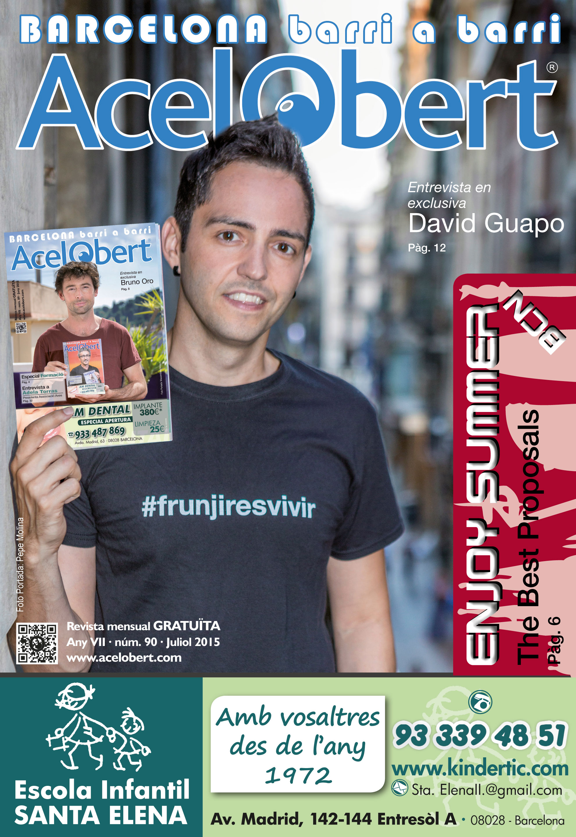 Acelobert Barcelona nº90 Juliol 2015