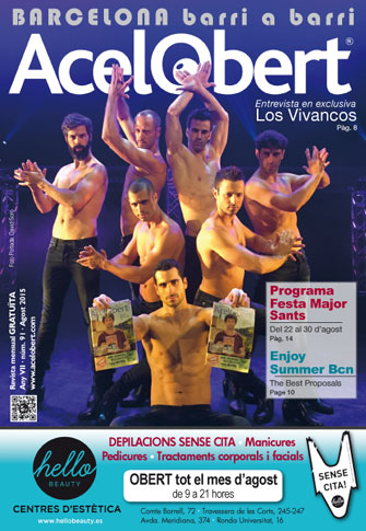 Acelobert Barcelona nº91 Agosto 2015