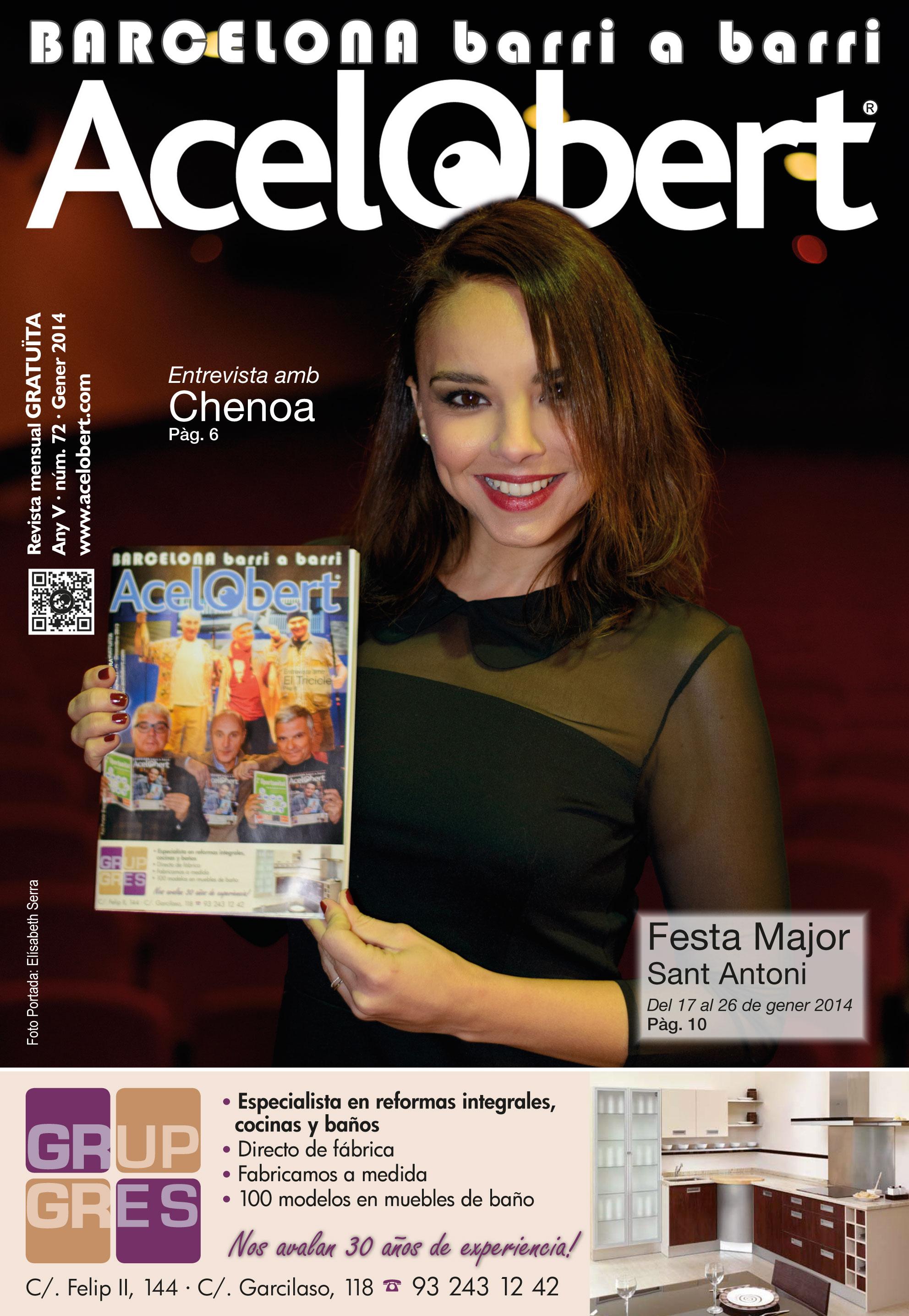Acelobert Barcelona nº72 Gener 2014