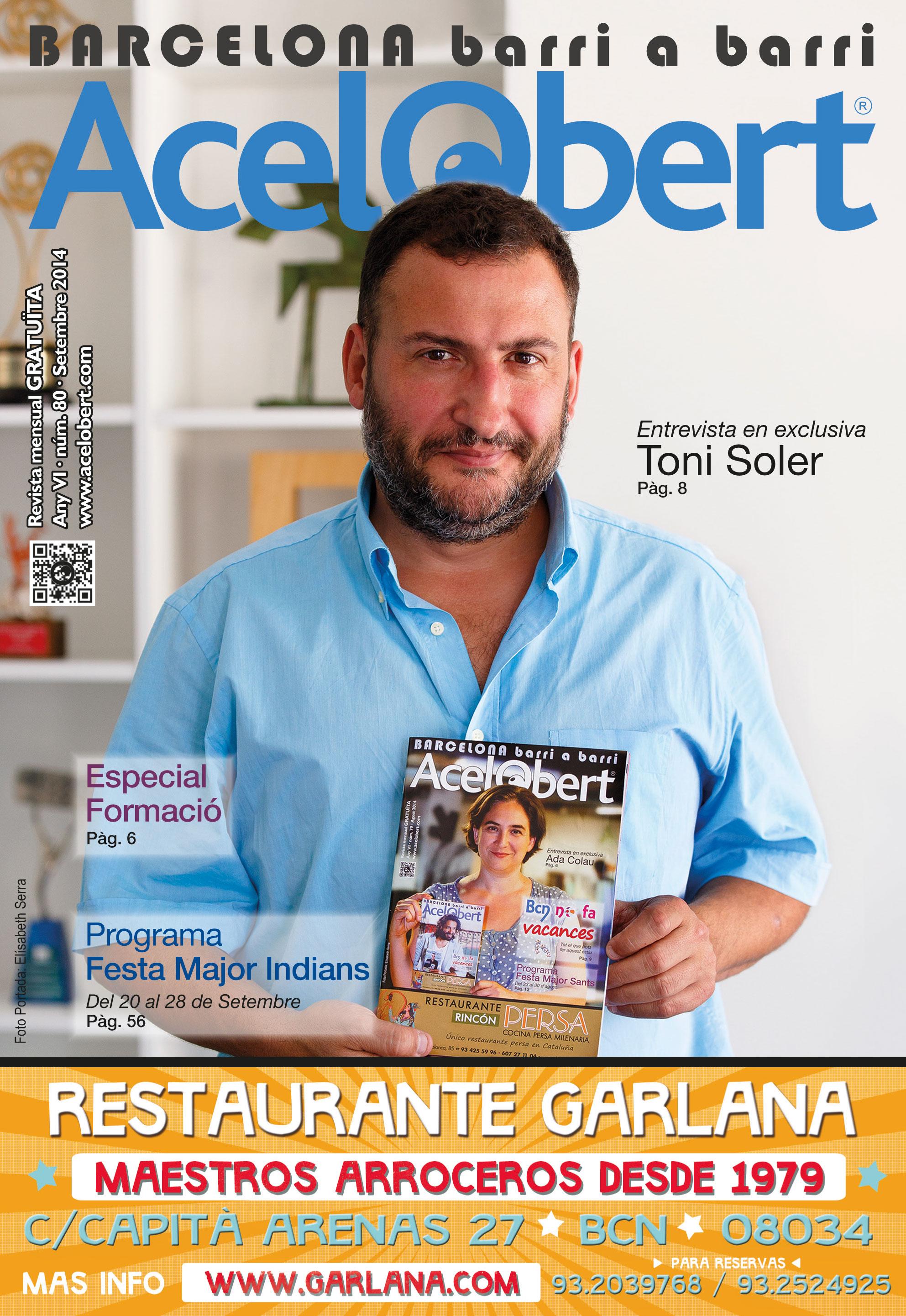 Acelobert Barcelona nº80 Setembre 2014