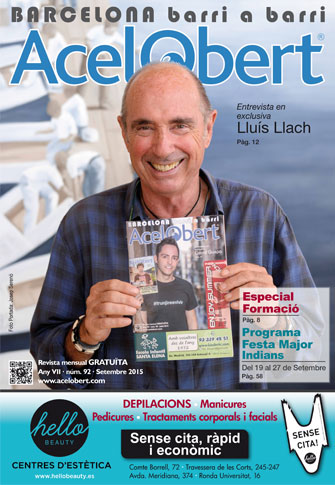 Acelobert Barcelona nº92 Septiembre 2015