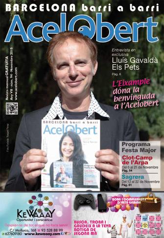 Acelobert Barcelona nº94 Noviembre 2015