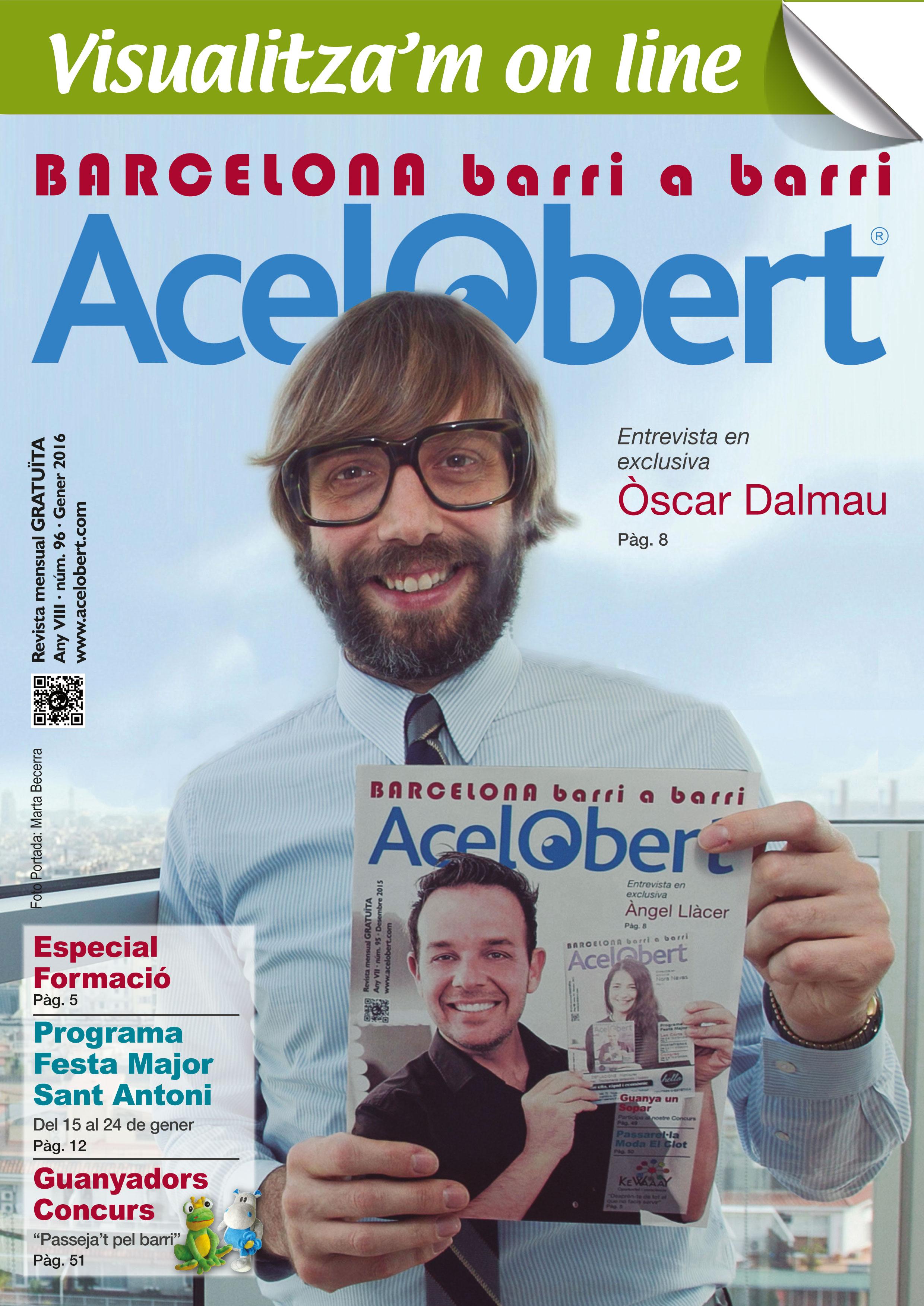Acelobert Barcelona nº96 Gener 2016