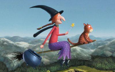 Infantil: El Nadal del senyor Branquilló i l'escombra voladora