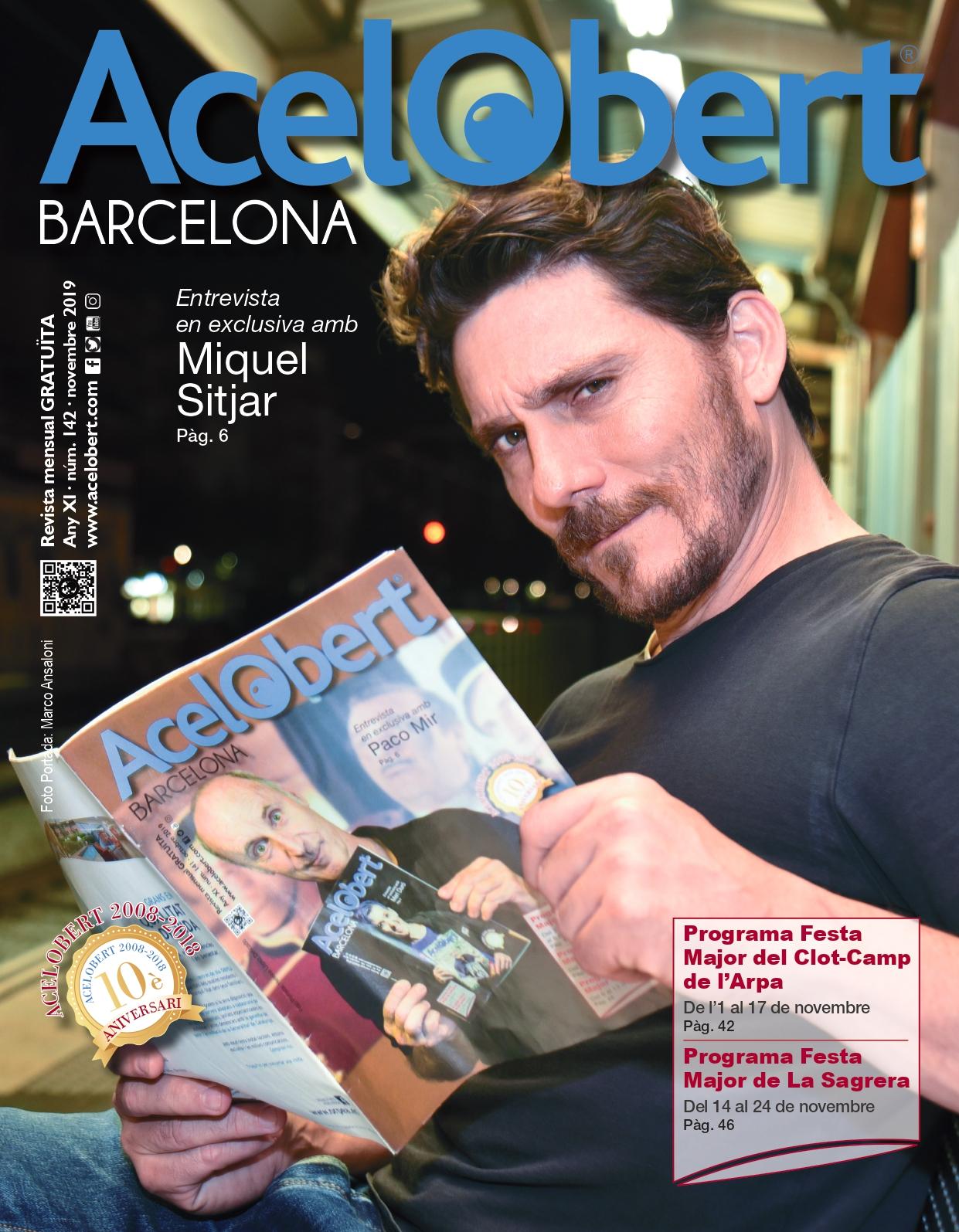 Acelobert Barcelona NOVEMBRE 2019