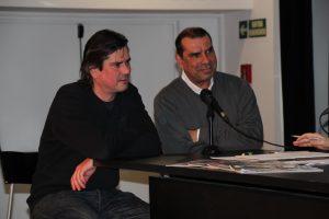 Àlex i Sergi (propietaris de La Bodega del Poblet)