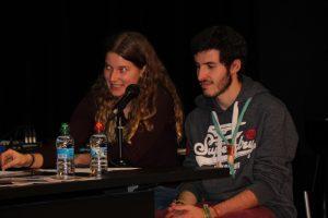 Aina Vila i Javier Gombau (Agrupació Escolta de la Sagrada Família)