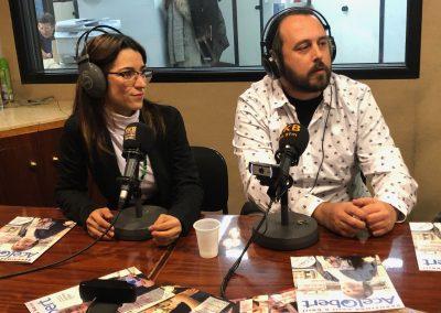 Xavier Aranda i Karen Meinhardt (propietaris de Meinhardt Kosmetik)