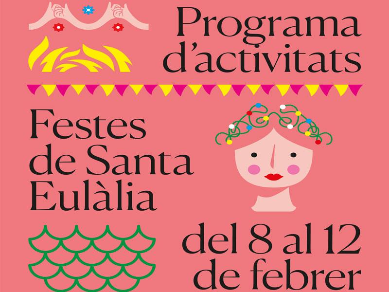 Programa d'activitats Festes de Santa Eulàlia 2019