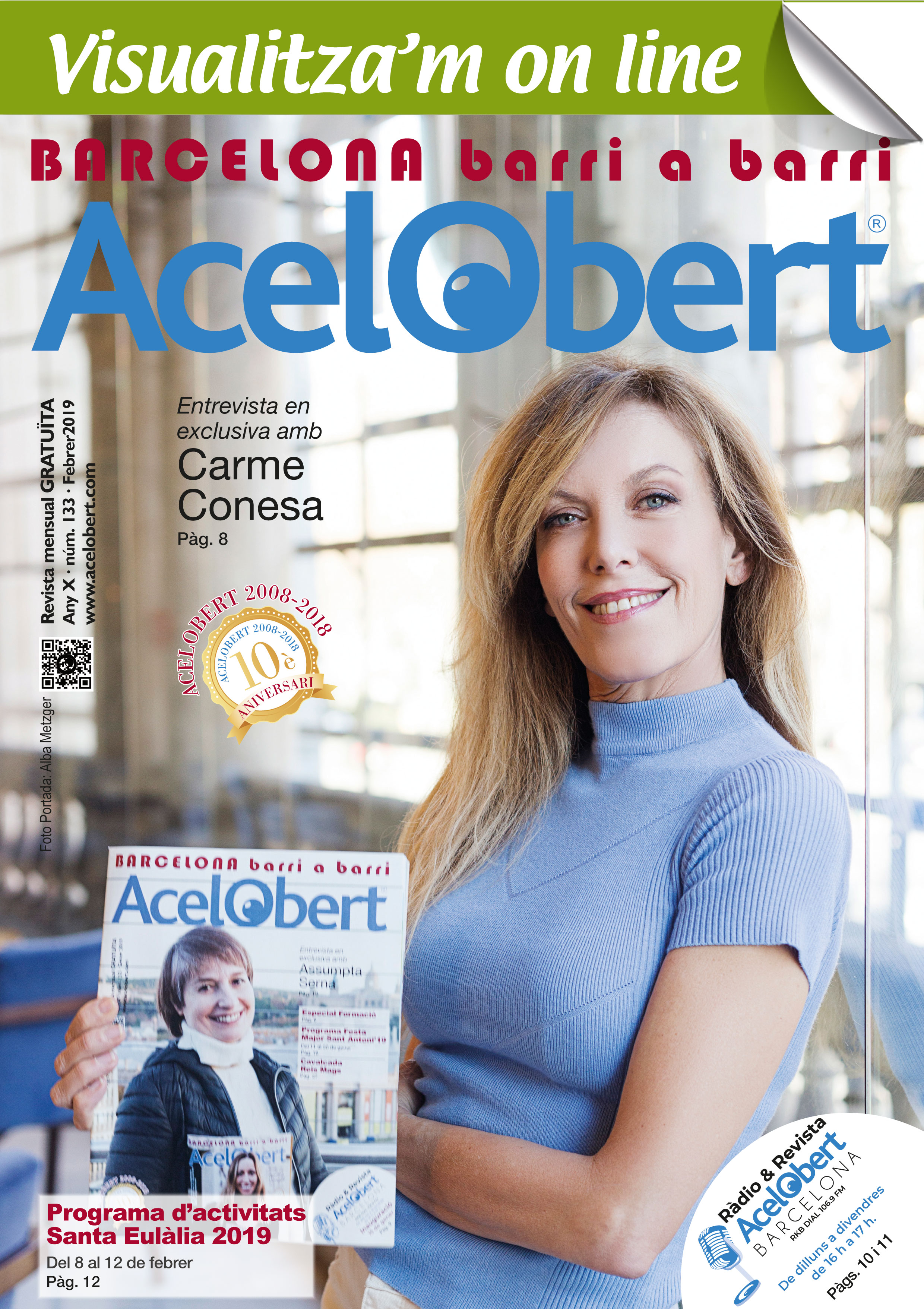Acelobert Barcelona nº 133 FEBRER 2019