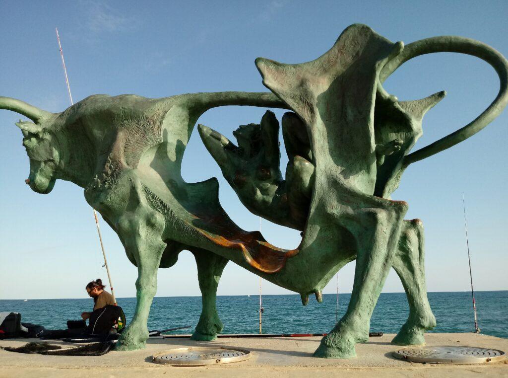 Pasífae. Escultura de Oscar Estruga. Revista Acelobert Barcelona