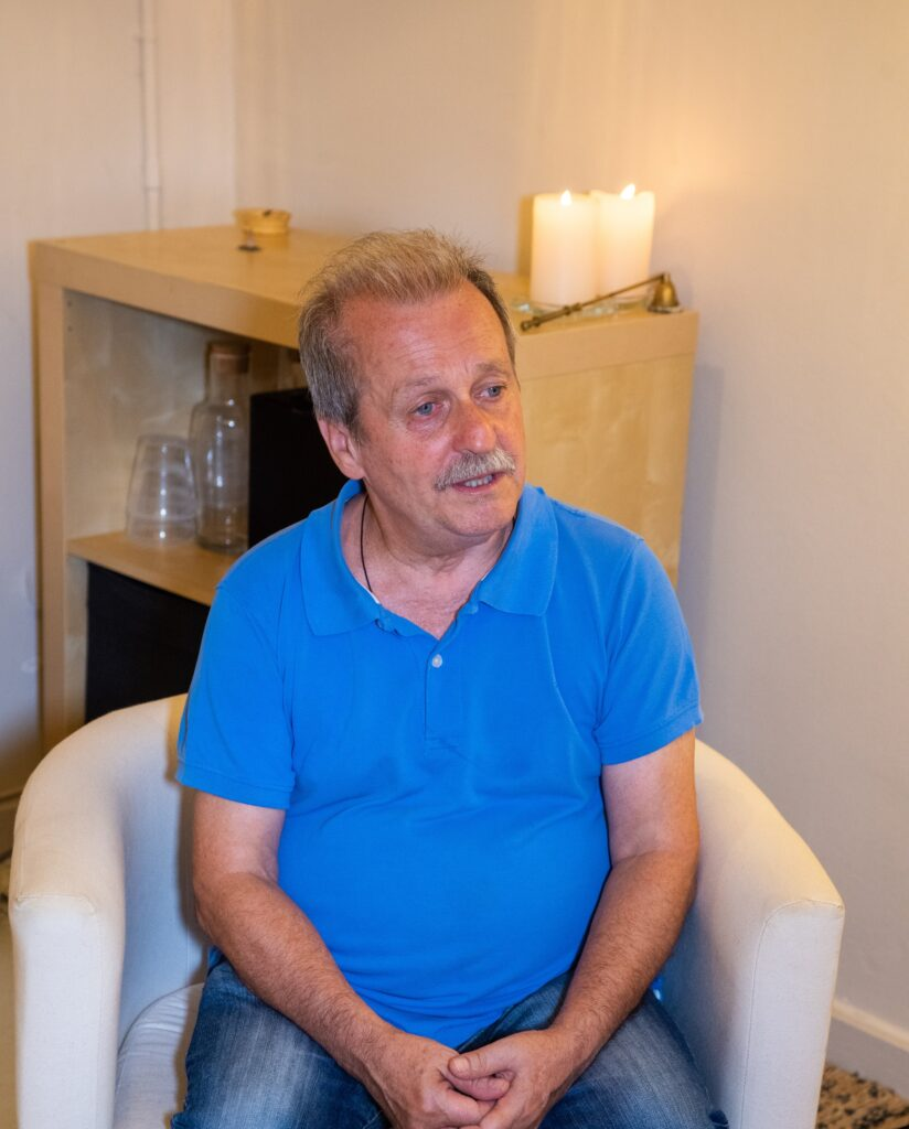 Eloy Sanz, terapeuta espagirista. Entrevista Acelobert Barcelona
