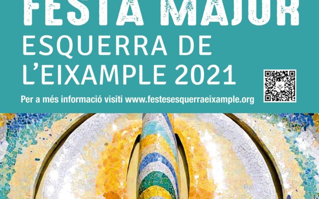 Programa Festa Major Esquerra de l'Eixample 2021