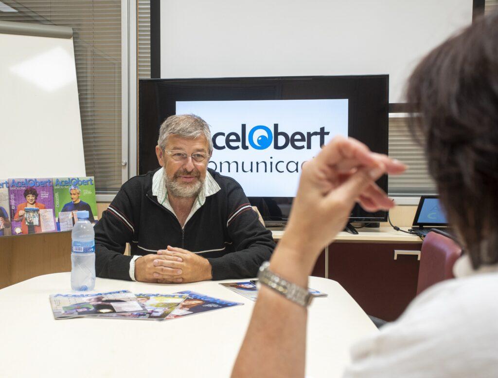 Ramon Franquesa. Entrevista Revista Acelobert Barcelona